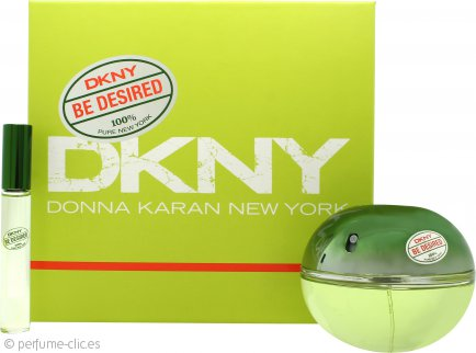 DKNY Be Desired Set de Regalo 100ml EDP + 10ml EDP Bola Perfumante
