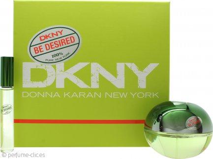 DKNY Be Desired Set de Regalo 50ml EDP + 10ml EDP Bola Perfumante
