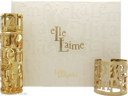 Lolita Lempicka Elle L'aime Set de Regalo 80ml EDP + Pulsera de Oro