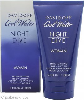 Davidoff Cool Water Women Night Dive Loción Corporal 150ml