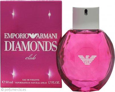 Giorgio Armani Emporio Diamonds Club Eau de Toilette 50ml Vaporizador