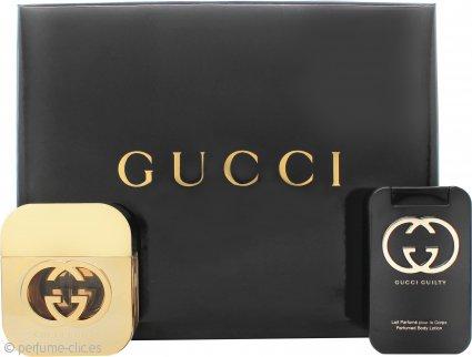 Gucci Guilty for Her Set de Regalo 50ml EDT + 100ml Loción Corporal
