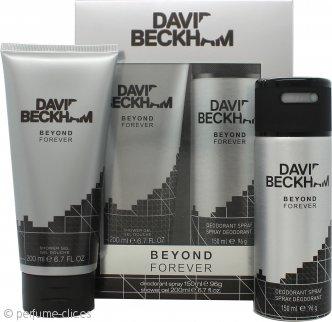 David & Victoria Beckham Beyond Forever Set de Regalo 200ml Gel de ducha + 150ml Desodorante en Vaporizador