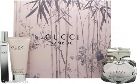 Gucci Bamboo Set de Regalo 50ml EDP + 50ml Loción Corporal + 7.4ml EDP