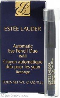 Estee Lauder Lápiz de Ojos Automático Duo con Difuminador & Recambio - Jet Black