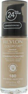 Revlon ColorStay Maquillaje 30ml - 180 Sand Beige Pieles Mixtas/Grasas