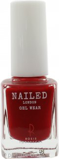 Nailed London Gel Wear Esmalte de Uñas 10ml - Rosie's Red