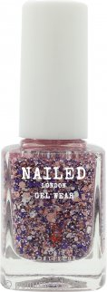 Nailed London Gel Wear Esmalte de Uñas 10ml - Fruit Punch Brillo
