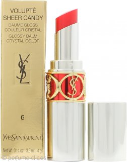Yves Saint Laurent Volupté Sheer Candy Bálsamo Brillo 3.5ml - 6 Luscious Cherry
