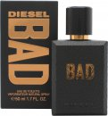 Diesel Bad Eau de Toilette 50ml Vaporizador