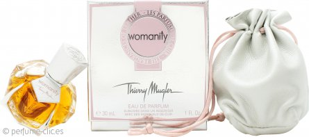 Thierry Mugler Womanity Les Parfums de Cuir - The Fragrance of Leather Eau de Parfum 30ml Vaporizador