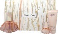Calvin Klein Endless Euphoria Set de Regalo 125ml EDP Vaporizador + 15ml EDP + 100ml Loción Corporal