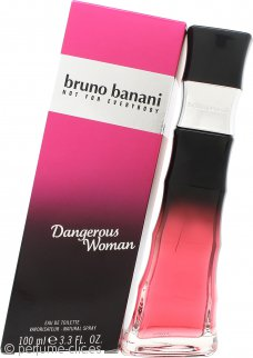 Bruno Banani Dangerous Woman Eau De Toilette 100ml Vaporizador