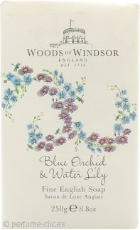 Woods of Windsor Blue Orchid & Water Lily Fine English Jabón 250g