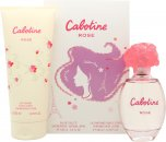 Gres Parfums Cabotine Rose Set de Regalo 100ml EDT + 200ml Loción Corporal