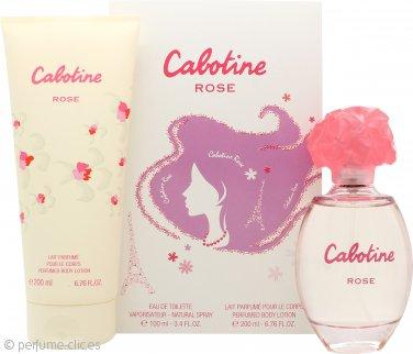 Gres Parfums Cabotine Rose Set de Regalo 100ml EDT + 200ml Loción Corporal