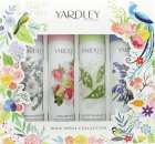 Yardley Body Spray Set de Regalo 4 x 75ml - English Bluebell + Lily of the Valley  + English Rose + English Lavender