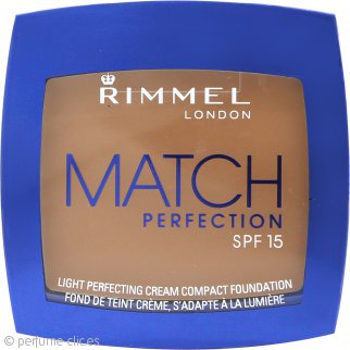 Rimmel Match Perfection Maquillaje Compacto 7g - 402 Bronze