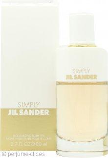 Jil Sander Simply Jil Sander Eau de Toilette Moisturising Body Veil 80ml Vaporizador