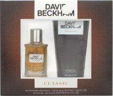 David Beckham Classic Set de Regalo Eau de Toilette 40ml Vaporizador + Gel de Ducha 200ml