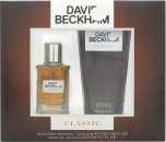 David Beckham Classic Set de Regalo Eau de Toilette 40ml Vaporizador + Gel de Ducha 200ml