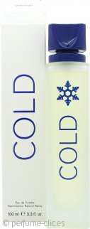 SBC (Formerly Benetton) Cold Eau de Toilette 100ml Vaporizador