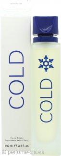 SBC (Formerly Benetton) Cold Eau de Toilette 100ml Vaporizador