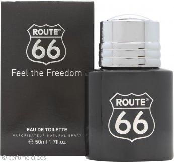 Route 66 Feel The Freedom Eau de Toilette 50ml Vaporizador