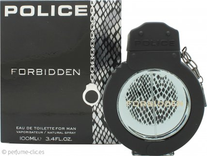Police Forbidden for Man Eau de Toilette 100ml Vaporizador