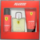 Ferrari Scuderia Ferrari Red Gift Set 125ml EDT + 150ml Deodorant Spray + 150ml Gel 2 en 1 Cuerpo y Pelo
