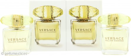Versace Yellow Diamond Gift Set 2 x 30ml EDT Vaporizador