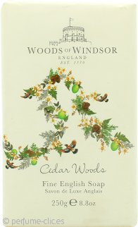 Woods of Windsor Cedar Woods Fine English Jabón 250g