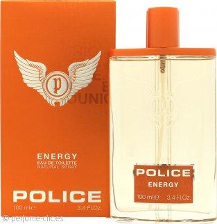 Police Energy Eau de Toilette 100ml Vaporizador
