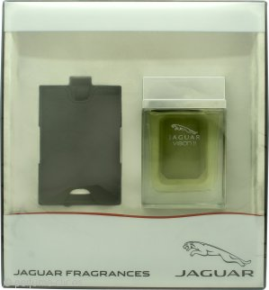Jaguar Vision II Set de Regalo 100ml EDT Vaporizador + Etiqueta Maleta