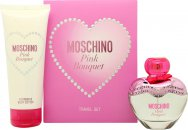 Moschino Pink Bouquet Set de Regalo 50ml EDT + 100ml Loción Corporal
