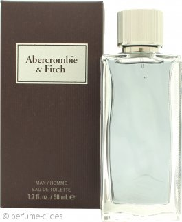 Abercrombie & Fitch First Instinct Eau de Toilette 50ml Vaporizador