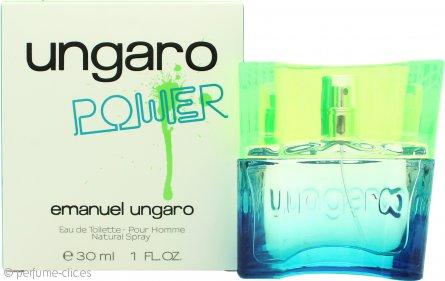Emanuel Ungaro Power Eau de Toilette 30ml Vaporizador