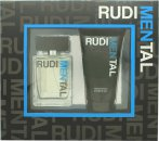 RudiMENtal Blue Pour Homme Set de Regalo 100ml EDT + 150ml Gel de Ducha