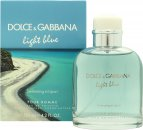 Dolce & Gabbana Light Blue Pour Homme Swimming in Lipari Eau de Toilette 125ml Vaporizador
