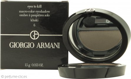 Giorgio Armani Eyes to Kill Solo Sombra de Ojos 06 - Khaki