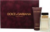Dolce & Gabbana Pour Femme Set de Regalo 50ml EDP + 100ml Loción Corporal