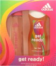 Adidas Get Ready! For Her Set de Regalo 75ml EDT + 250ml Gel de Ducha