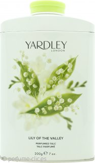 Yardley Lily of the Valley Talco Perfumado 200g
