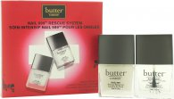Butter London Nail 999 Rescue System Set de Regalo 11ml Capa de Acabado + 11ml Capa Base