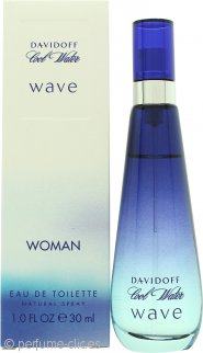 Davidoff Cool Water Wave Eau de Toilette 30ml Vaporizador