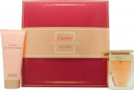 Cartier La Panthere Set de Regalo 50ml EDP + 100ml Loción Corporal