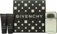 Givenchy Play Set de Regalo 100ml EDT + 75ml Aftershave + 75ml Gel de ducha