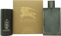 Burberry Brit Rhythm Set de Regalo 90ml EDT Vaporizador + 75g Desodorante en Barra