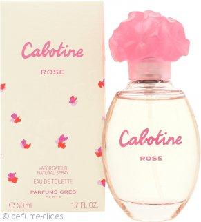 Gres Parfums Cabotine Rose Eau De Toilette 50ml Vaporizador