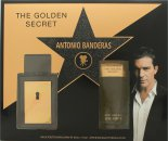 Antonio Banderas The Golden Secret Set de Regalo 50ml EDT + 100ml Bálsamo Aftershave
